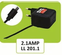 LL 201.1 Black Travel Faster Mobile Charger