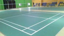 Indoor Carlton Badminton Court mat, 4.5 Mm