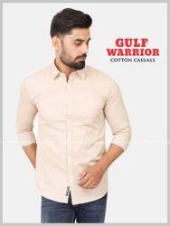 Gulf Warrior Cotton Plain Shirts
