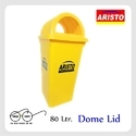Aristo Dustbin 80 Ltr Dome Lid