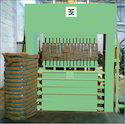 Coir Fibre Bale Press