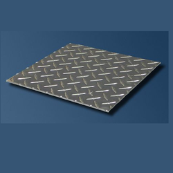 Silver Color Aluminum Tread Plate, Size: 2, 3 and 4 Inch