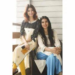 Cotton Ladies Ethnic Kurti