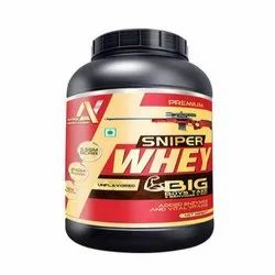 3 kg Multi Vitamins Arms Nutrition Sniper Whey Protein, Packaging Type: Plastic Container