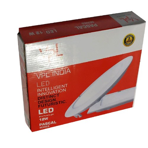 Corrugated Paper Sheet Printed 12 Watt LED Light Packaging Box