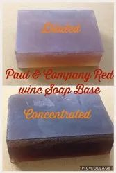 Paraben Free Red Wine Soap Base