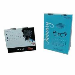 English Paper Table Calendar Printing Services