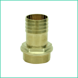 H4D Brass hose connection (), Size: 1.5 inch