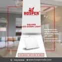 Hosper 6 Inch Cut Size LED Light Panel Round 15 Watt