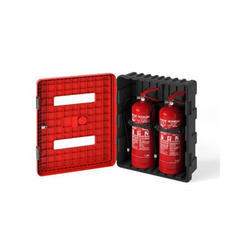 Fire Extinguisher Cabinet Dual
