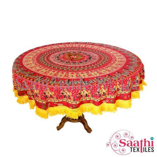 Round Table Cloths Size 165 Cm Rs, Round Table Cloths