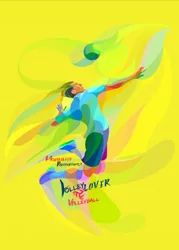 Plastic Hard Volleyball Back Cover Designs for Mobile