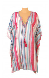 Cotton Printed Beachwear Kaftan