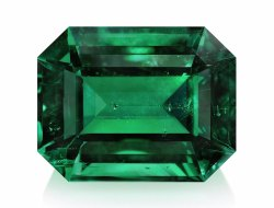 Octagon Natural Emerald