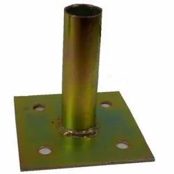 Concrete Surface Mount Floor Flange PS Post Mount 1-3/8 and 1- 5/8