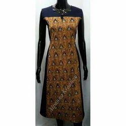 Cotton Kalamkari Designer Kurtis