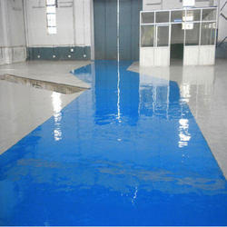 PU Floor Coating Service, Thickness: 2mm