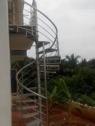 SS Fully Spiral Staircase