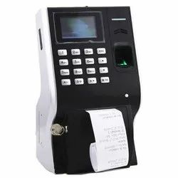 Canteen Machine For Coupon Printing With Biometric And Card Identification