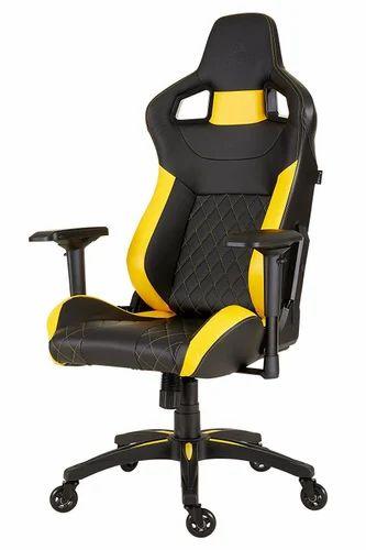 Corsair T1 Race Gaming Chair Blackyellowblue At Rs 26000 Per One