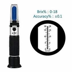 ERMA 0-18% Hand Refractometer, For Laboratory