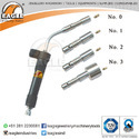 Eagle Iso 9001-2015 Three Burner Jewellery Tools Micro Gas Torch