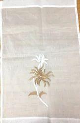 Nira Cotton White Curtain, for Window