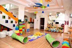 Play School Interior Designing, 3D Interior Design Available
