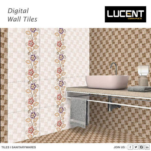 Lucent Ceramic Wall Tiles, Thickness: 0-5 mm