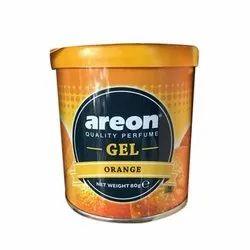 Gel Orange Areon Car Air Freshener