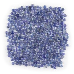 Natural AA Tanzanite Plain Rondelles Beads Loose Gemstone For Jewelry Making
