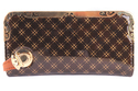 Brown Leather Designer Ladies Wallet
