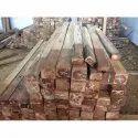Ghana Teak Wood Lumber, Thickness: 4 - 6 Inch