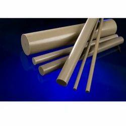 H D P E PLASTIC ROD 60 mm Diameter x 500 mm,1//2 a metre long white COLOR