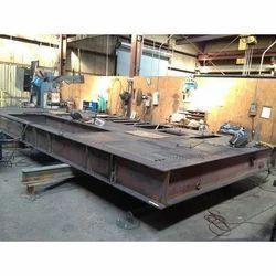 Carbon Steel Base Frame Fabrication Work