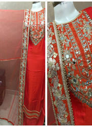 Gotta Patti Cotton Salwar Suit