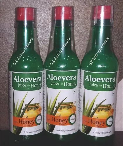 Aloevera Juice with Honey Flavor