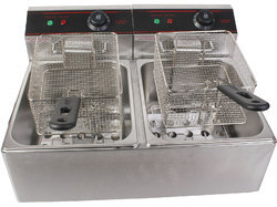 Double Tank Chicken Fryer