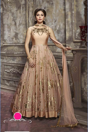 4a82a204a8 Women Oracle Beige Full Stitched USA Partywear Bridal Gown, Rs 3495 ...
