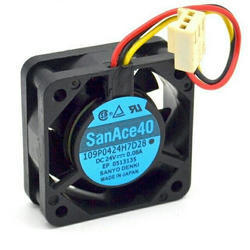 SanAce Cooling Fan 109P0424H7D28 24VDC 0.08A SanAce 40 Drive Cooling Fan