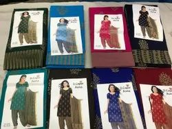 Printed Ethnic Wear asma, For SUITS SALWAR