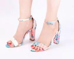 Dech Barrouci Colorful High Heels Ladies Sandal