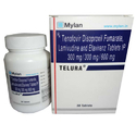 TELURA - Tenofovir Disoproxil Fumarate Lamivudine and Efavirenz Tablets IP