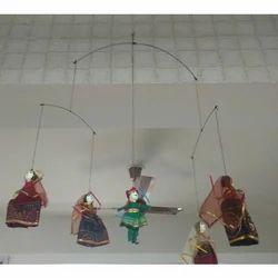 Rajasthani Wire Hanging Dandiya Puppets