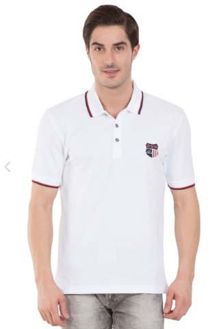 d6ab008f Jockey White Polo T-shirt at Rs 799 /piece | जॉकी पुरुषों ...