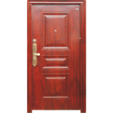 Wood Finish Steel Door