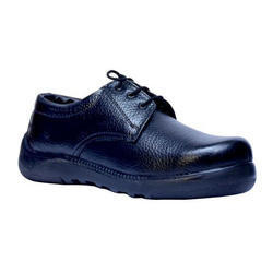 Vithariya Black Boys School Shoe, Size: 7-5