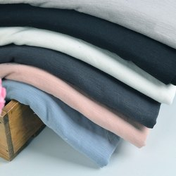 Plain Cotton Jersey Lycra Fabric