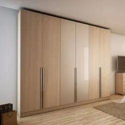 Stainless Steel Designer Wardrobe, For Hotels, Homes