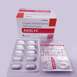 Azolyc Lycopene, Antioxidant And Multivitamin Tablets, Packaging Type: Alu Alu, Packaging Size: 10*10